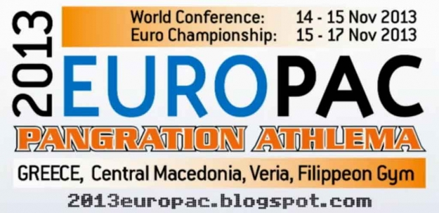 3rd European Championship 2013 Veria, Greece